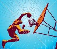 Basketball Dunk ClipArt